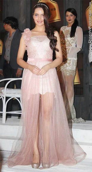 Shazahn Padamsee at Blenders Pride Fashion Tour 2012