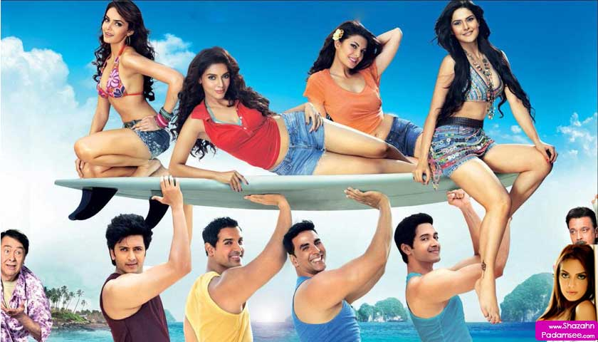 Shazahn Padamsee excited for Housefull 2