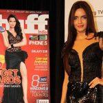 Shazahn Padamsee In Short Black Dress At Stuff Book Launch