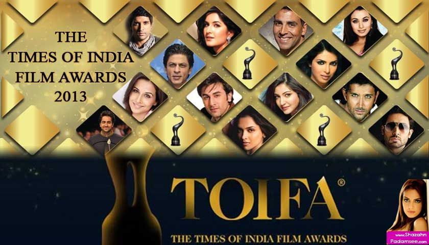 Times Of India Film Awards Toifa 2013