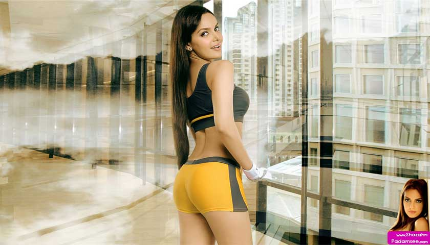 Shazahn Padamsee tights